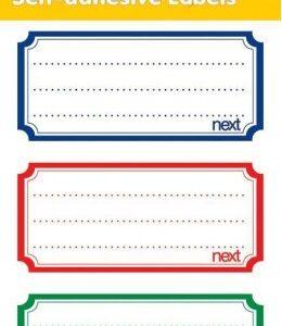 Ετικέτες τετραδίων-Sticker